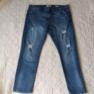 William Rast Slim Tomboy Jeans distressed 30